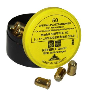 Patroner 50st - Kieferle® W2