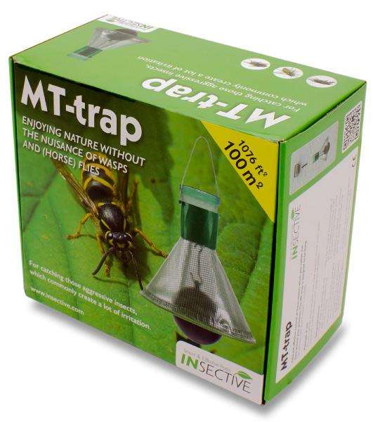 MT-Trap insektsfälla ute