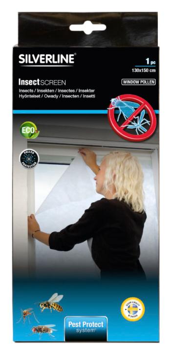 Silverline Insekts- pollenskydd fönster