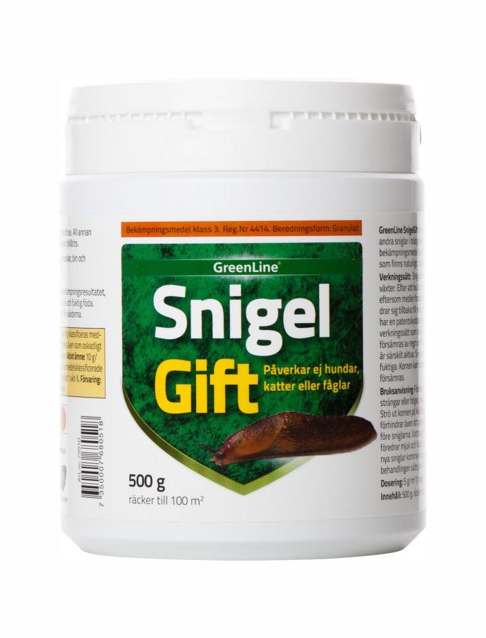 SnigelGift Greenline® 500g / 100m2