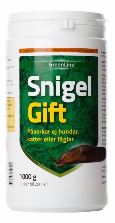 SnigelGift Greenline® 1000g / 200m2