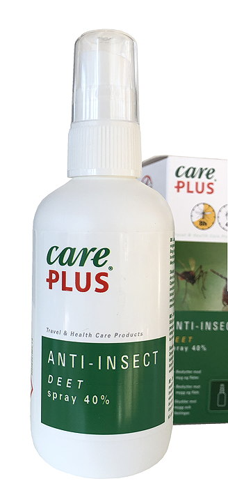 Myggmedel DEET 40% Care Plus®, 60ml