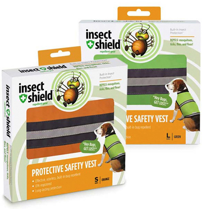 Insect Shield® reflexväst hund