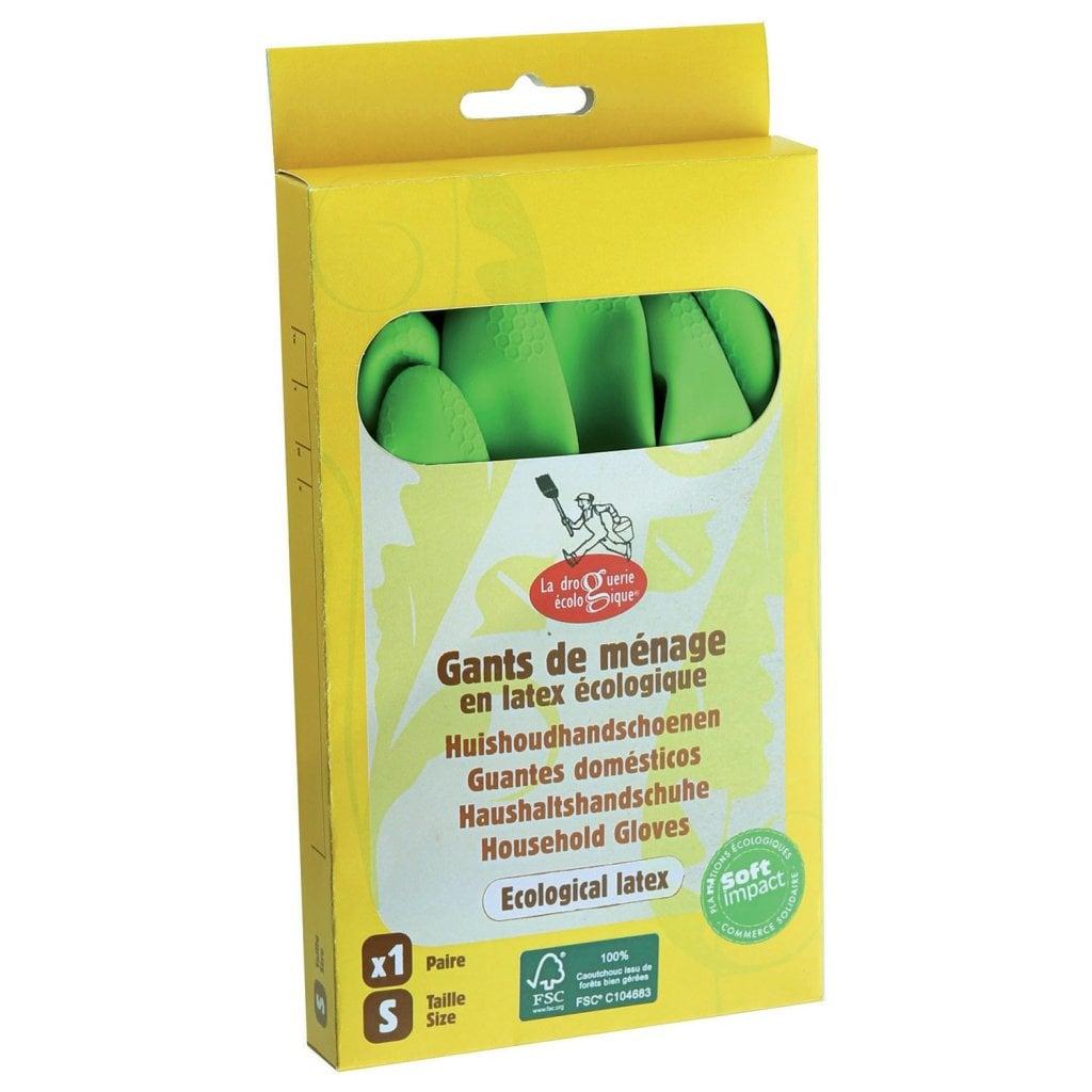 Gummihandskar naturgummi S/M/L/XL