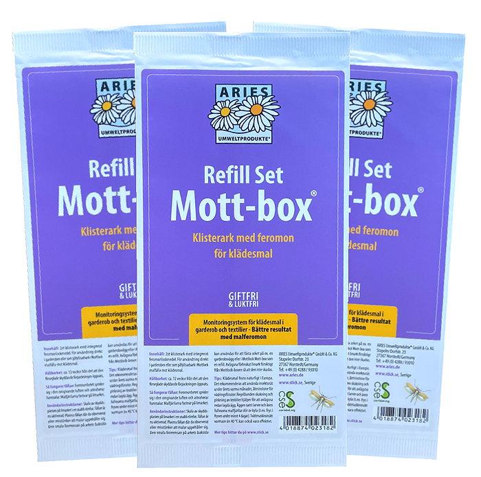 Värdekit: 3st Mottlock refill 2-pack