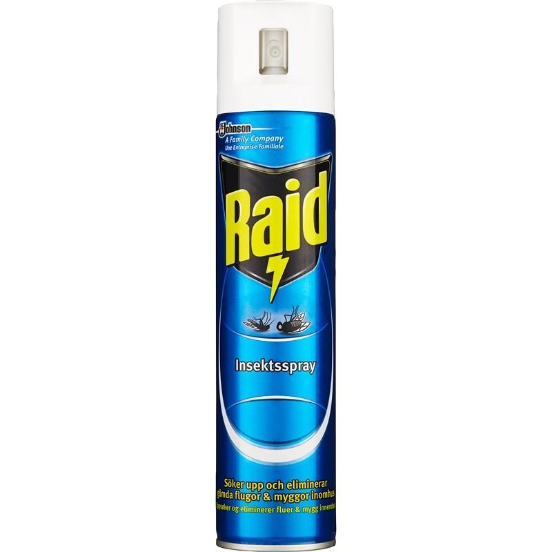 Raid insektsspray 300ml