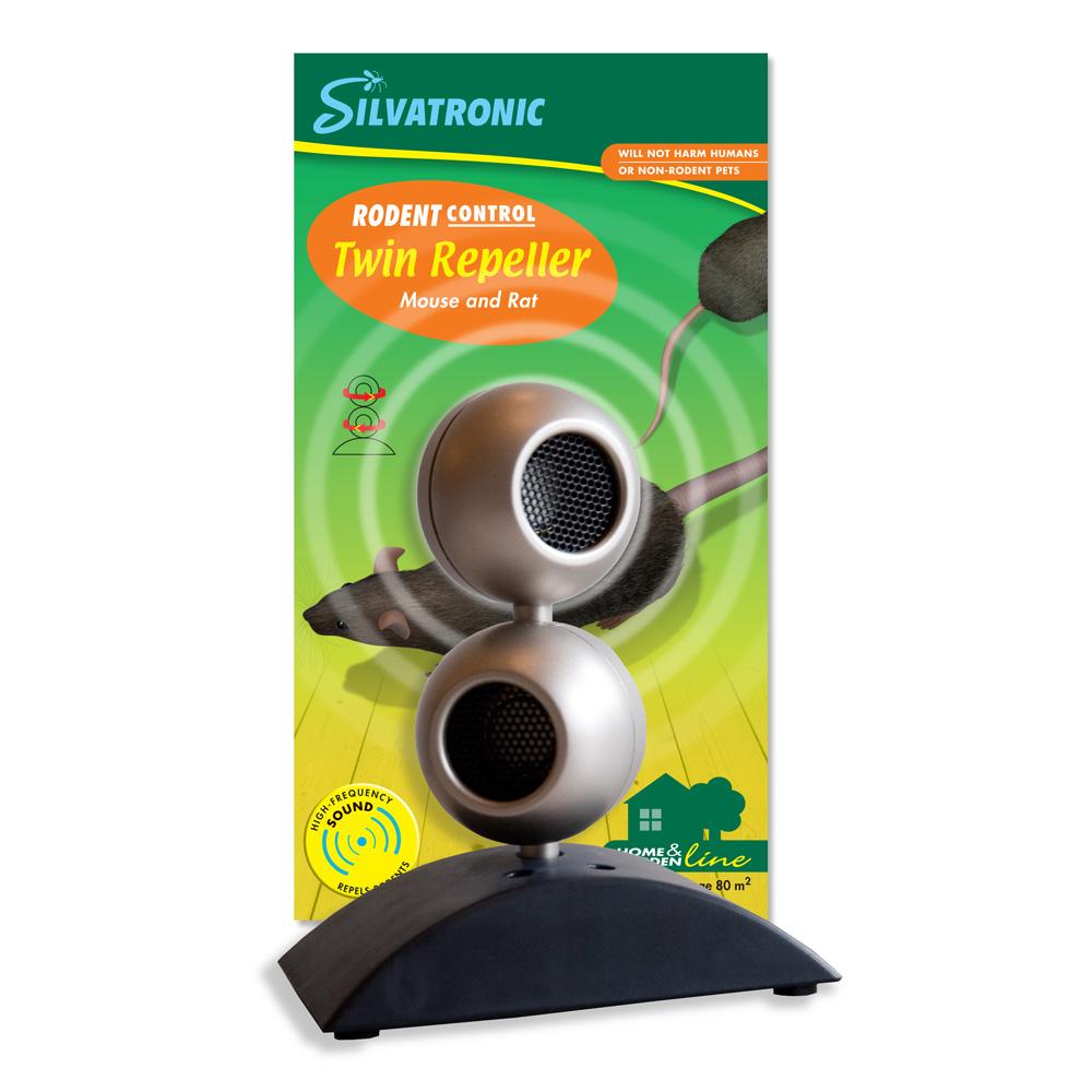 Silvatronic® Twin Repeller mus & råtta